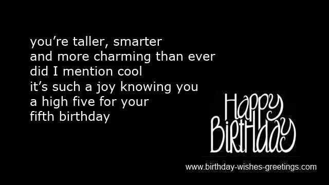 Best ideas about Birthday Wishes For 5 Year Old . Save or Pin 5th birthday wishes boys and girls 5 year old bday greetings Now.