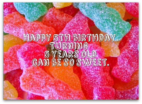 Best ideas about Birthday Wishes For 5 Year Old . Save or Pin 5th Birthday Wishes Birthday Messages for 5 Year Olds Now.