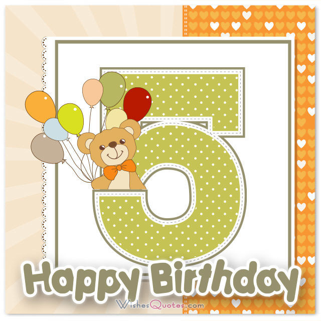 Best ideas about Birthday Wishes For 5 Year Old . Save or Pin Happy 5th Birthday Wishes for 5 Year Old Boy or Girl Now.