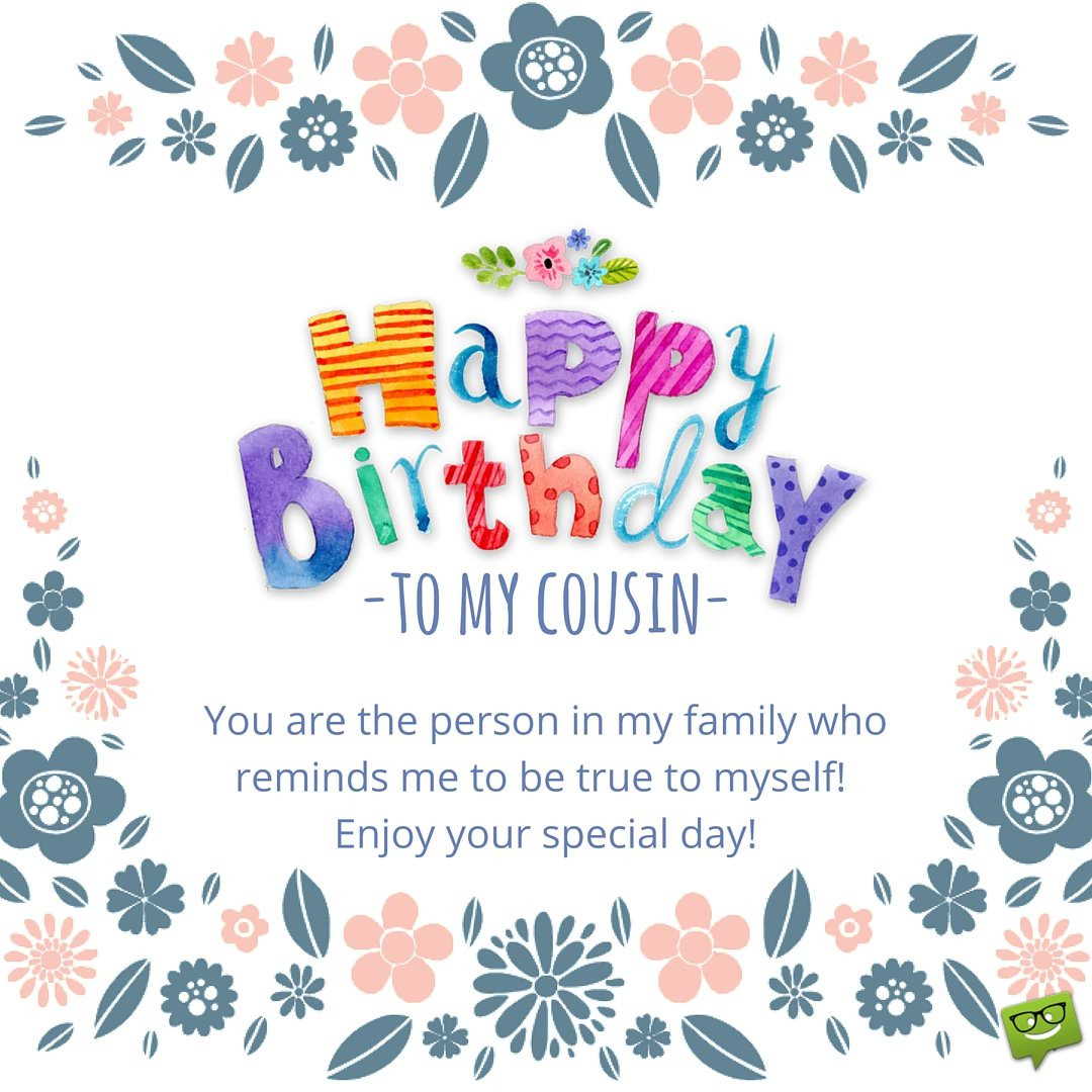 Best ideas about Birthday Wishes For A Cousin . Save or Pin Happy Birthday Cousin Now.