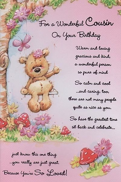 Best ideas about Birthday Wishes For A Cousin . Save or Pin Birthday Cards Female Relation Birthday Cards Female Now.