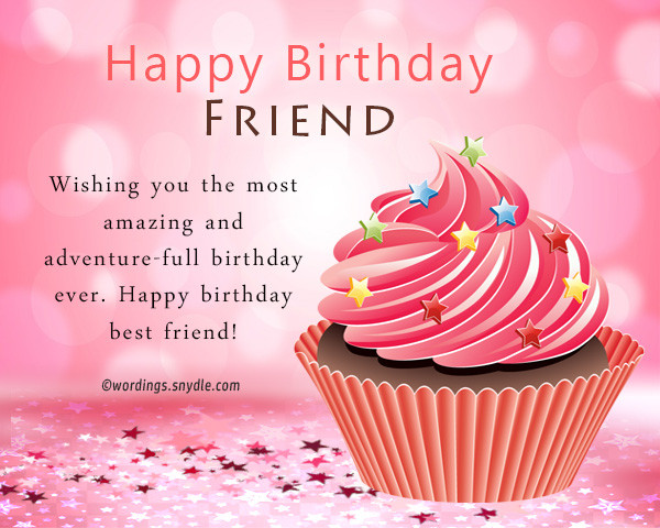 Best ideas about Birthday Wishes For A Special Female Friend . Save or Pin Birthday Wishes For Best Friend Female Happy Valetines Day Now.