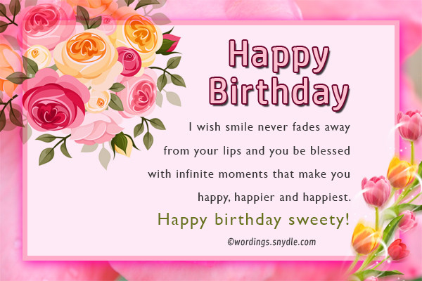 Best ideas about Birthday Wishes For A Special Female Friend . Save or Pin Birthday Wishes For Best Friend Female Wordings and Messages Now.