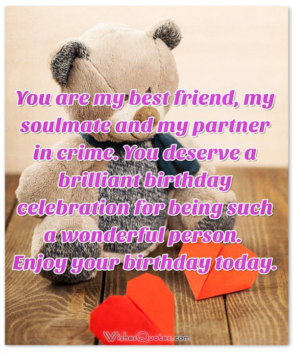 Best ideas about Birthday Wishes For A Special Friend . Save or Pin Deepest Birthday Wishes and for Someone Special in Now.