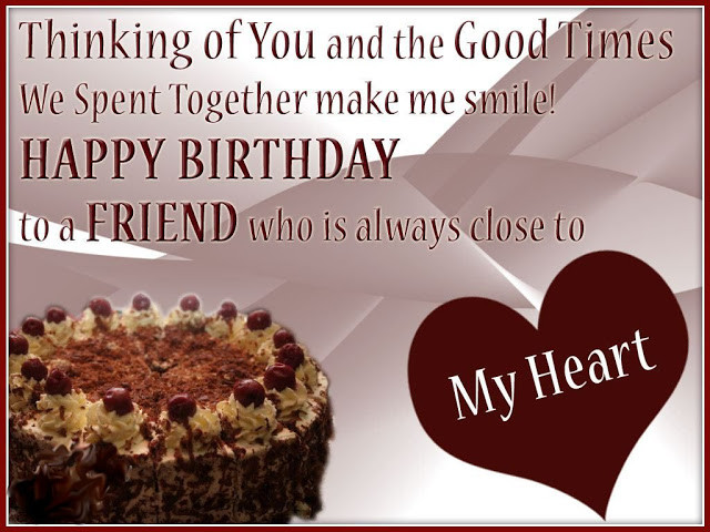 Best ideas about Birthday Wishes For A Special Friend . Save or Pin greeting birthday wishes for a special friend This Blog Now.