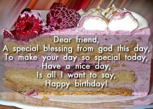Best ideas about Birthday Wishes For A Special Male Friend . Save or Pin Happy Birthday Wishes For Male Friend Now.