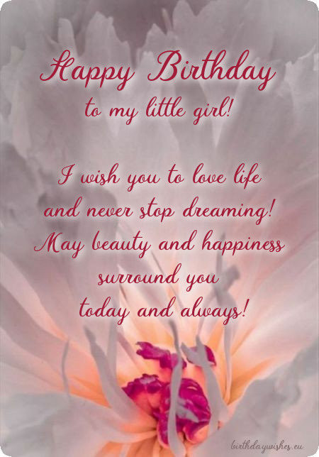 Best ideas about Birthday Wishes For Adult Daughter . Save or Pin Happy Birthday Wishes For Daughter From Mom And Dad Now.