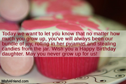 Best ideas about Birthday Wishes For Adult Daughter . Save or Pin Adult Birthday Quotes For Daughter QuotesGram Now.