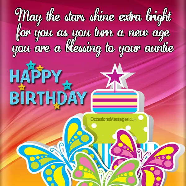 Best ideas about Birthday Wishes For Aunt From Niece . Save or Pin Birthday Wishes for Niece from Aunt Occasions Messages Now.