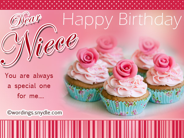 Best ideas about Birthday Wishes For Aunt From Niece . Save or Pin Happy Birthday Wishes for Niece Niece Birthday Messages Now.