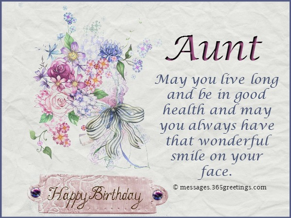 Best ideas about Birthday Wishes For Aunt From Niece . Save or Pin Birthday Wishes for Aunt 365greetings Now.
