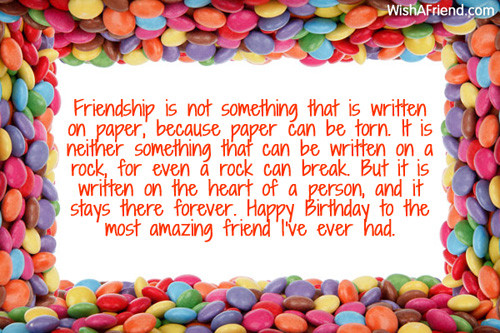Best ideas about Birthday Wishes For Best Friend Girl . Save or Pin Best Friend Birthday Wishes Now.