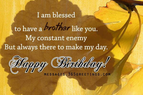 Best ideas about Birthday Wishes For Big Brother . Save or Pin Birthday Wishes for Brother 365greetings Now.