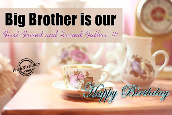 Best ideas about Birthday Wishes For Big Brother . Save or Pin Birthday Wishes For Brother Birthday Now.
