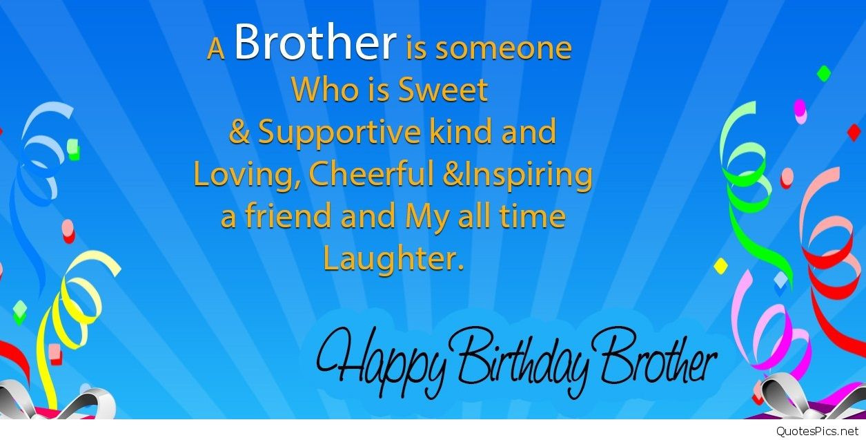 Best ideas about Birthday Wishes For Big Brother . Save or Pin Happy Birthday Brother 50 Brother s Birthday Wishes Now.