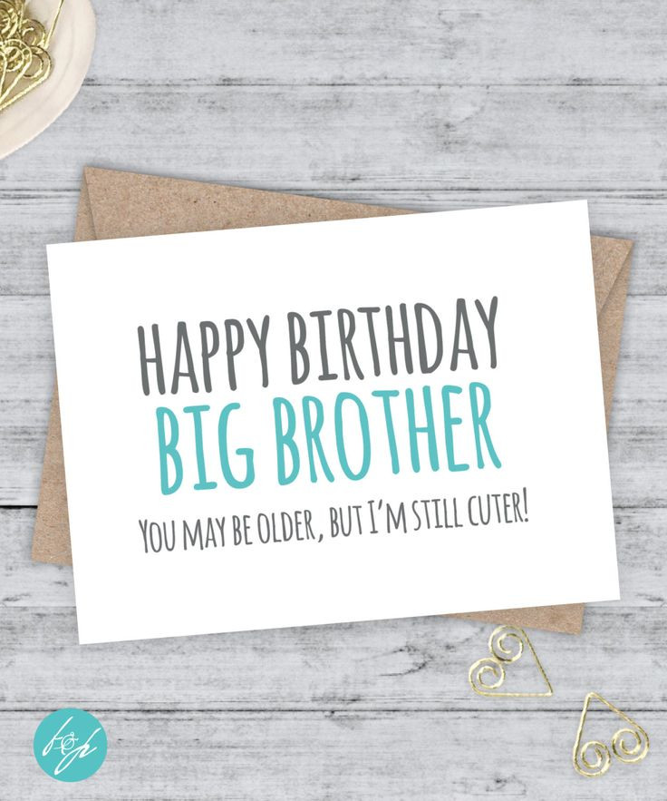 Best ideas about Birthday Wishes For Big Brother . Save or Pin 1000 ideas about Happy Birthday Brother Funny on Now.