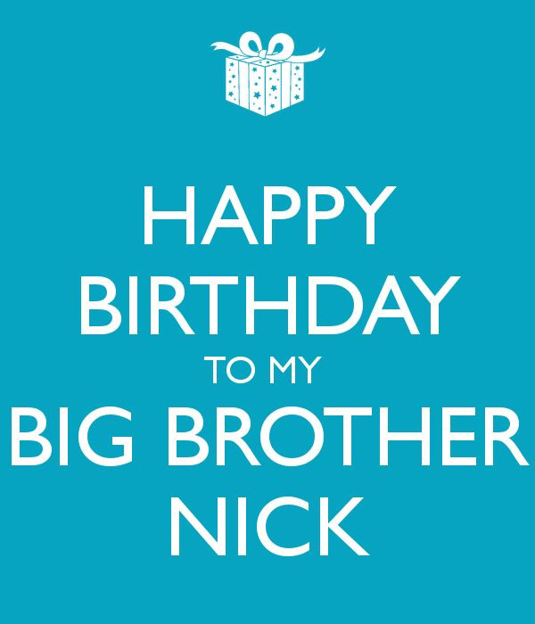 Best ideas about Birthday Wishes For Big Brother . Save or Pin 25 best ideas about Happy birthday big brother on Now.