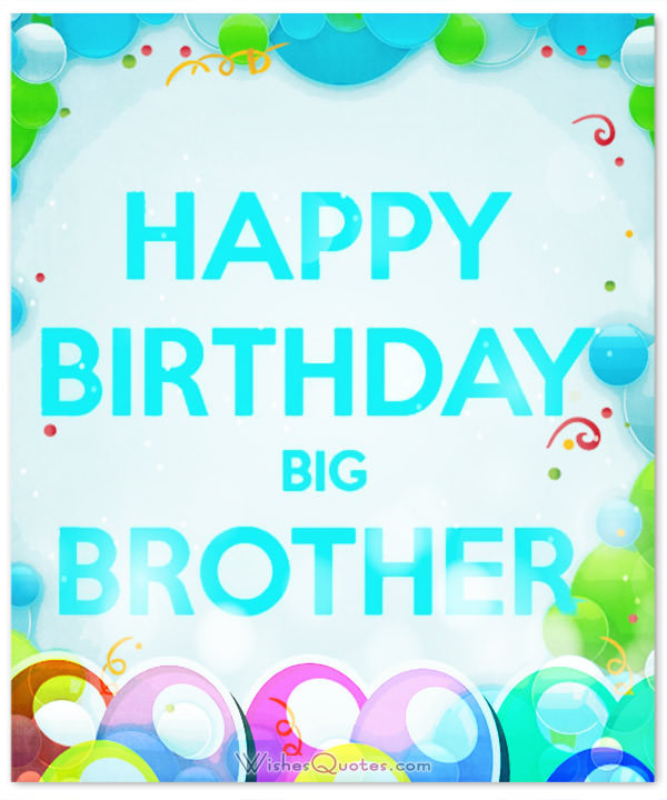 Best ideas about Birthday Wishes For Big Brother . Save or Pin Happy Birthday Brother 100 Brother s Birthday Wishes Now.