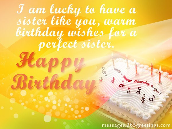 Best ideas about Birthday Wishes For Big Sister . Save or Pin Sister Birthday wishes that warm the heart Messages Now.