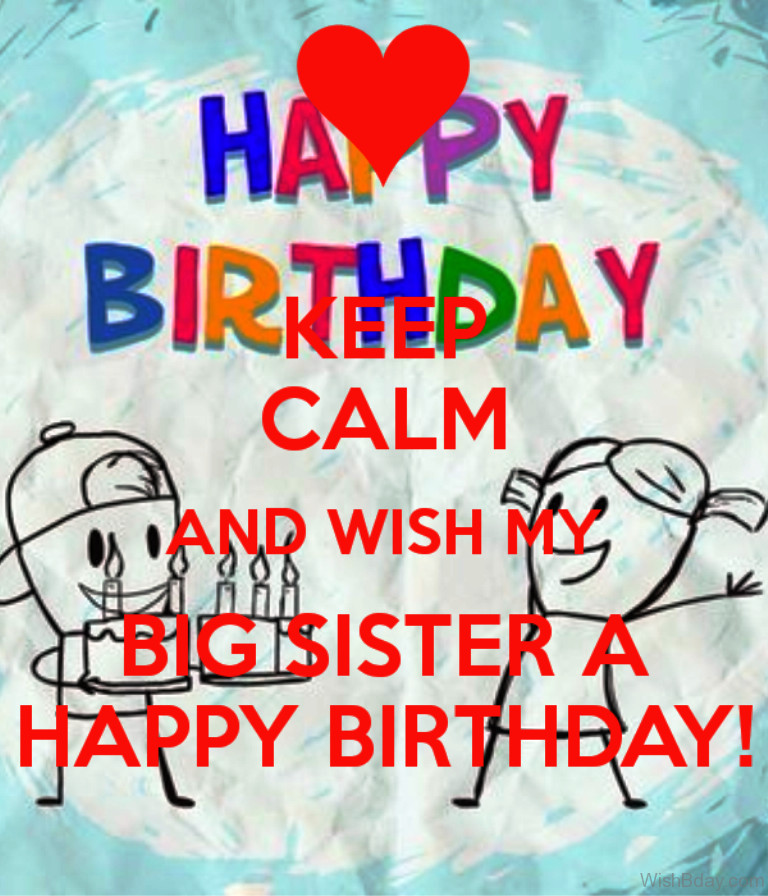 Best ideas about Birthday Wishes For Big Sister . Save or Pin 58 Happy Birthday Big Sister Now.