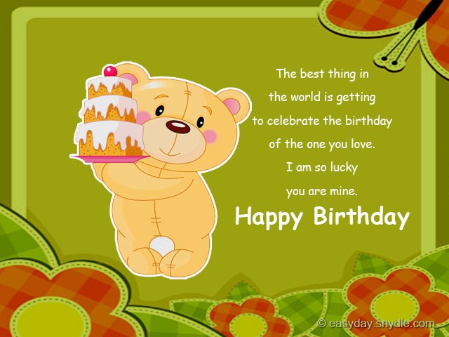 Best ideas about Birthday Wishes For Boyfriend Romantic . Save or Pin Birthday Wishes for Boyfriend Easyday Now.