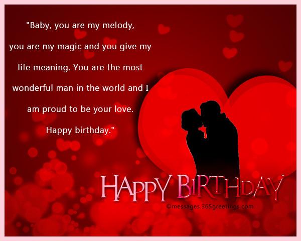 Best ideas about Birthday Wishes For Boyfriend Romantic . Save or Pin Romantic Birthday Wishes 365greetings Now.