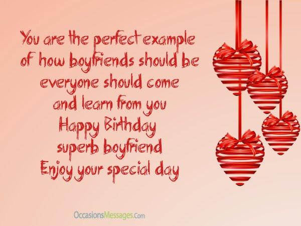 Best ideas about Birthday Wishes For Boyfriend Romantic . Save or Pin Romantic Birthday Wishes for Boyfriend Occasions Messages Now.
