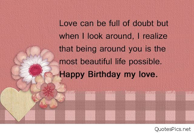 Best ideas about Birthday Wishes For Boyfriend Romantic . Save or Pin Happy birthday my love cards & photos 2016 2017 Now.
