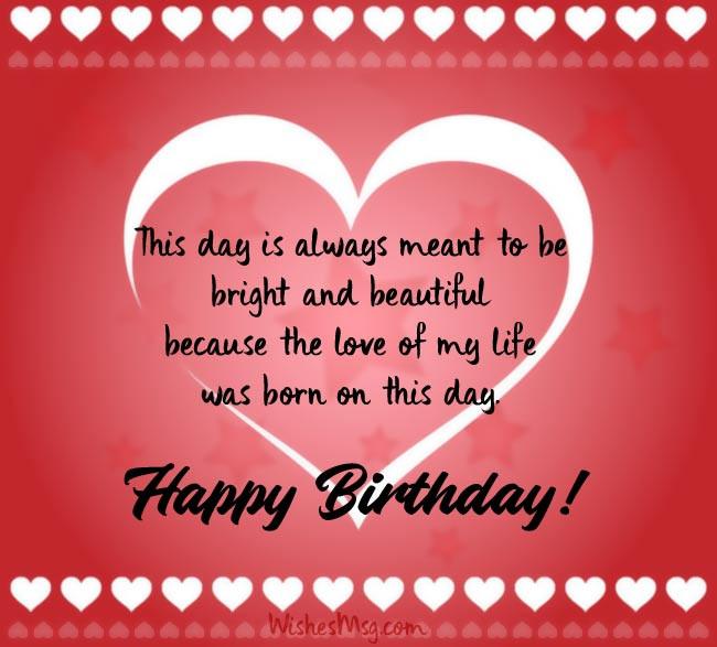 Best ideas about Birthday Wishes For Boyfriend Romantic . Save or Pin Birthday Wishes for Boyfriend Happy Birthday Messages Now.