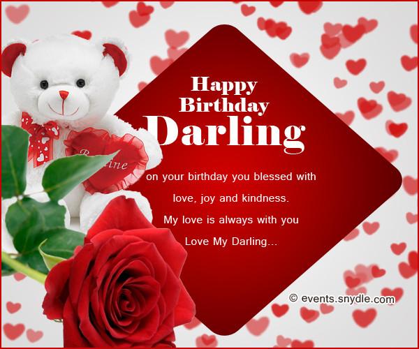 Best ideas about Birthday Wishes For Boyfriend Romantic . Save or Pin Birthday wishes for boyfriend Festival Around the World Now.