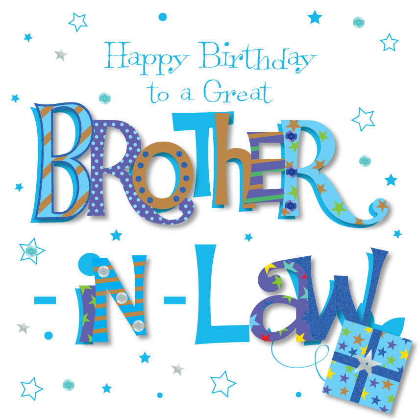 Best ideas about Birthday Wishes For Brother In Law . Save or Pin Great Brother In Law Happy Birthday Greeting Card Now.
