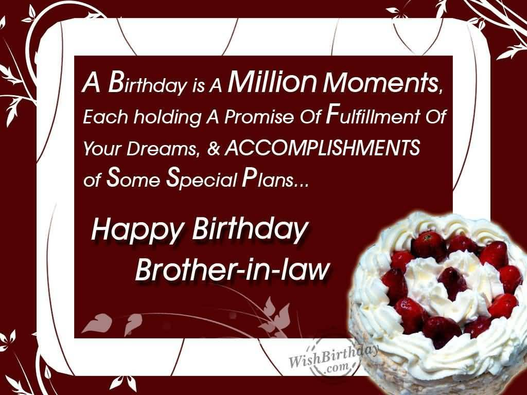 Best ideas about Birthday Wishes For Brother In Law . Save or Pin Top 40 Brother In Law Birthday Wishes And Greetings Now.