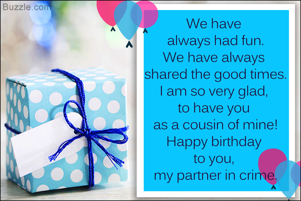 Best ideas about Birthday Wishes For Cousin . Save or Pin A Collection of Heartwarming Happy Birthday Wishes for a Now.