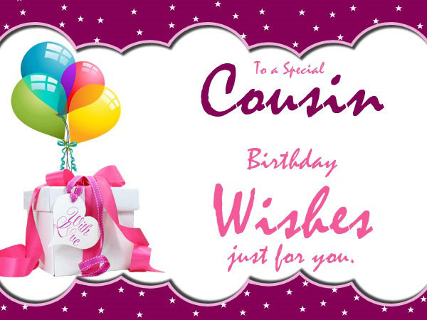 Best ideas about Birthday Wishes For Cousin Female Images . Save or Pin 60 Happy Birthday Cousin Wishes and Quotes Now.