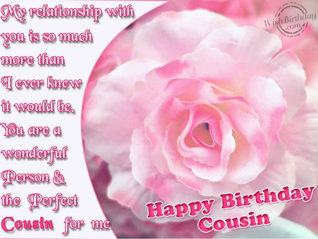 Best ideas about Birthday Wishes For Cousin Female Images . Save or Pin happy birthday cousin images Now.