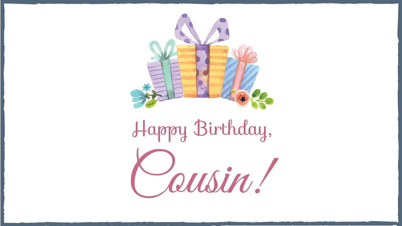 Best ideas about Birthday Wishes For Cousin Female Images . Save or Pin Happy Birthday Cousin Now.