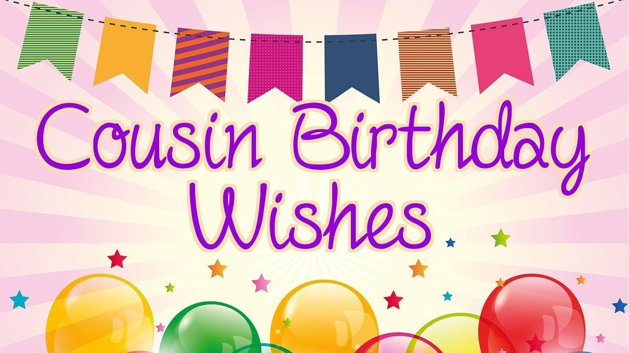 Best ideas about Birthday Wishes For Cousin Female Images . Save or Pin Cousin Happy Birthday Wishes Now.