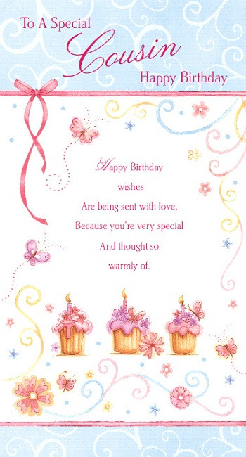 Best ideas about Birthday Wishes For Cousin Female Images . Save or Pin bday cousin on Pinterest Now.