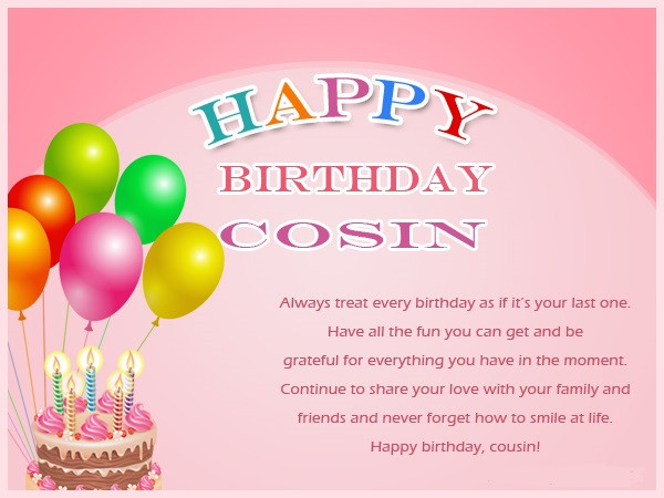 Best ideas about Birthday Wishes For Cousin Sister . Save or Pin 119 Happy Birthday Wishes for Sister Messages Quotes Now.