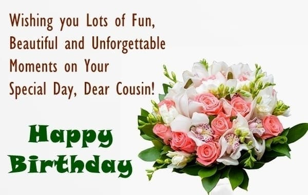 Best ideas about Birthday Wishes For Cousin Sister . Save or Pin Birthday Wishes for Cousin Sister Birthday Wishes for Now.