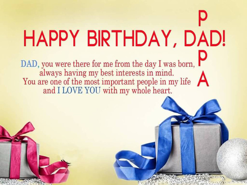 Best ideas about Birthday Wishes For Dad . Save or Pin Birthday Wishes For Dad Messages & Quotes WishesMsg Now.
