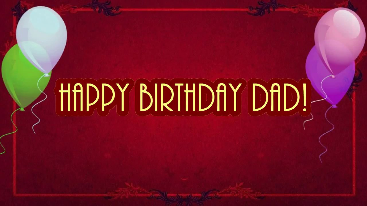 Best ideas about Birthday Wishes For Dad . Save or Pin Happy Birthday Dad Best Birthday Wishes for my Father Now.