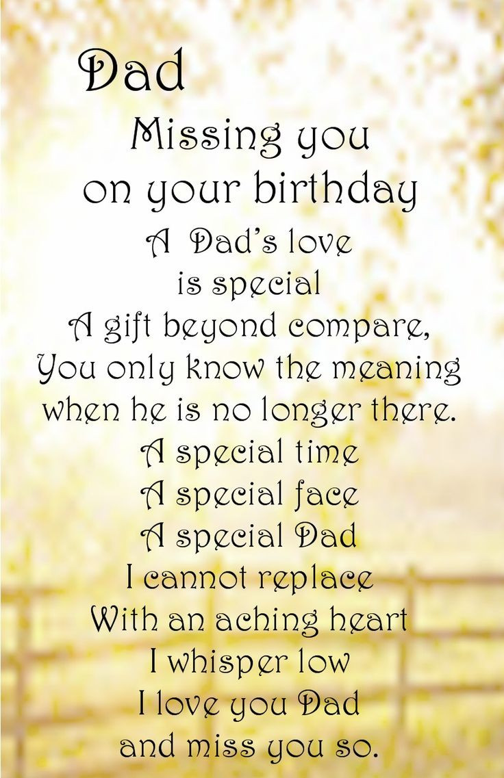 Best ideas about Birthday Wishes For Dad In Heaven . Save or Pin 17 Best ideas about Dad In Heaven on Pinterest Now.