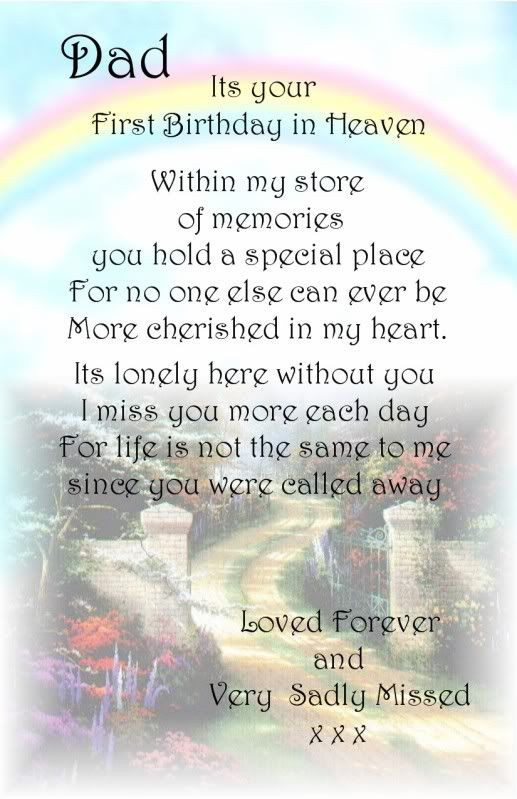 Best ideas about Birthday Wishes For Dad In Heaven . Save or Pin A Dad First Birthday Bereavement Graveside Memorial Now.