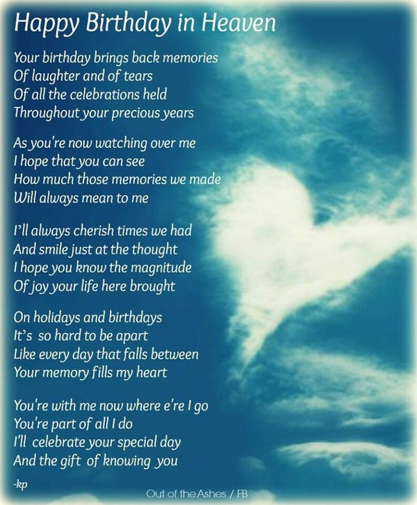 Best ideas about Birthday Wishes For Dad In Heaven . Save or Pin 72 Beautiful Happy Birthday in Heaven Wishes My Happy Now.