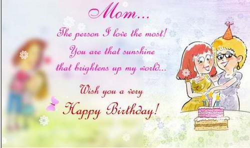 Best ideas about Birthday Wishes For Daughter From Mother . Save or Pin The 85 Loving Happy Birthday Mom from Daughter Now.