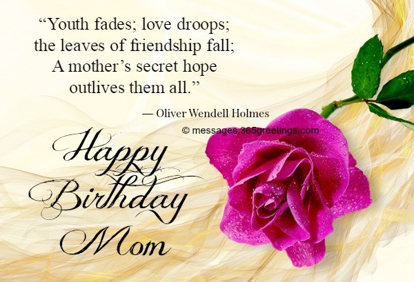 Best ideas about Birthday Wishes For Daughter From Mother . Save or Pin Birthday Wishes for Mother 365greetings Now.