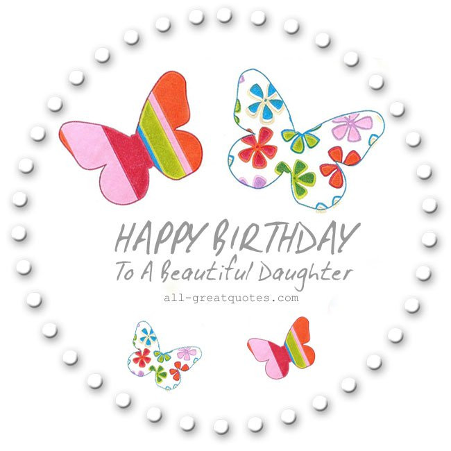 Best ideas about Birthday Wishes For Daughter From Mother . Save or Pin Happy Birthday Wishes for Daughter Birthday Poems for Now.