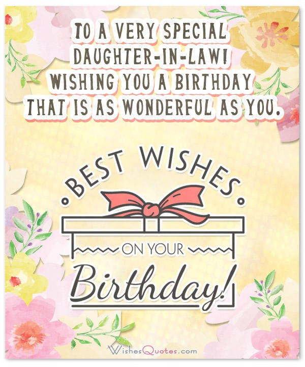 Best ideas about Birthday Wishes For Daughter In Law . Save or Pin Birthday Wishes for Daughter in Law from the Heart Now.