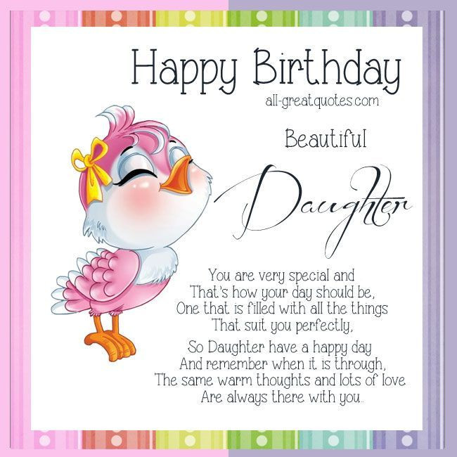 Best ideas about Birthday Wishes For Daughters . Save or Pin 25 best ideas about Birthday Wishes Daughter on Pinterest Now.